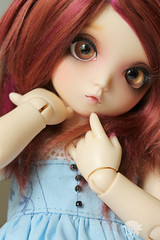 Robin (redmaiko) Tags: fairyland littlefee bjd rose yosd