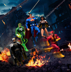 The Crime Syndicate (toyrewind) Tags: dccomics dcuniverseclassics dcuniverse justiceleague injustice crimesyndicate actionfigure toyphotography
