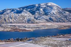 Osoyoos Lake (Richard McGuire) Tags: bc britishcolumbia december osoyoos similkameen ice snow winter