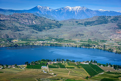 Osoyoos from Anarchist Mountain (Richard McGuire) Tags: bc britishcolumbia osoyoos osoyooslake lake view