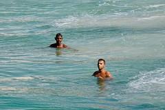 Enjoying the water (alobos life) Tags: playing copacabana nice beautiful cute brazilian boy garoto rio de janeiro brasil brazil skinny beach playa mar sea