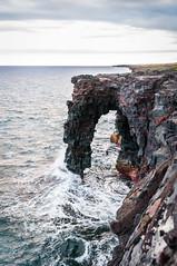 Holei Sea Arch (bfluegie) Tags: bigisland hawaii unitedstates hawaiivolcanoesnationalpark volcano lava