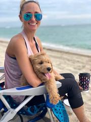 Gretta's Teddy is loving life!
