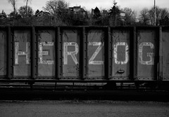Herzog, Portland (austin granger) Tags: herzog portland oregon train letters meaning mind film tracks decay deardorff largeformat