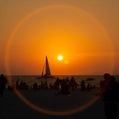Clearwater Beach Sunset (subrec) Tags: sunset colorfulskies colorfulsky colorful pentaxk50 pentax sunsetcruise clearwaterbeach clearskies florida centralflorida unitedstatesofamerica unitedstates sun sunshine bestofflorida floridasunset beach boat pier60 memorialweekend pentaxart