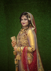 bridal photo shoot (Abhijit Biswas OV) Tags: bridal bride dhaka ornaments sharee fashion