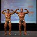 Men's Bodybuilding Masters Lightweight 2nd Lain Schmidt 1st Dany Bessette