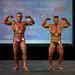 Men's Bodybuilding Grandmasters 2nd Greg Louvelle 1st Alain Schmidt