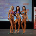Women's Bikini Class B 2nd Virginie Santerre 1st Marieve Turmel 3rd Saada Ammar
