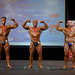 Men's Bodybuilding Middleweight 2nd Luca Santalucia 1st Dany Bessette 3rd Bruno Richer