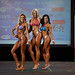 Women's Bikini masters 2nd sonia Quintin  1st Audrey Jibb 3rd Stéphanie Bélanger