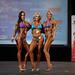 Women's Bikini Class C 2nd Alejandra Pulgar 1st Melodie Gingras 3rd Maggie Rioux