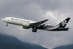 ZK-OKF (PlanePixNase) Tags: hkg vhhh hongkong cheplapkok airport aircraft planespotting airnewzealand boeing 777200 b777 b772