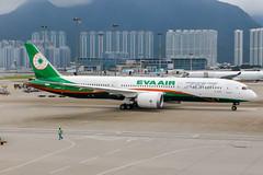 B-17885 (PlanePixNase) Tags: hkg vhhh hongkong cheplapkok airport aircraft planespotting eva evaair boeing 787 7879 b789