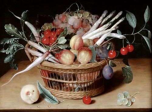 IMG_1200 isaak Soreau 1604-1644 Frankfurt/M Früchtekorb. Corbeille de fruits Schwerin.Staatliches Museum