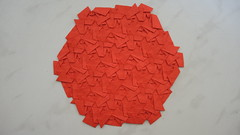 Autumn Leaves (Arseni Ko) Tags: origami pattern tesselation paper design symmetry geometry
