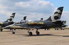 ES-YLF Aero L-39C Albatros (R.K.C. Photography) Tags: esylf aero l39c albatros breitlingjetteam aircraft aviation duxford iwm airshow duxfordairfestival cambridgeshire england unitedkingdom uk canoneos100d