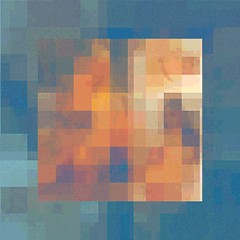 Ton Chair et Bleu (hinxlinx) Tags: abstractart digitalart mosaicart mosaic suggestiveimagery fleshtone tonechair tonechairetbleu blue hints suggestions hinxlinx ericlynxlin elynx