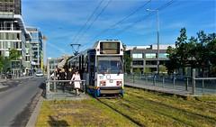 Allen Uitstappen AUB! (Peter ( phonepics only) Eijkman) Tags: amsterdam city trapkar bn tram transport trams tramtracks trolley gvb rail rails strassenbahn streetcars nederland netherlands nederlandse noordholland holland
