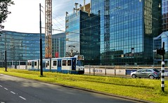 Eerste kopmaker (Peter ( phonepics only) Eijkman) Tags: amsterdam city gvb trapkar bn tram transport trams tramtracks trolley rail rails strassenbahn streetcars nederland netherlands nederlandse noordholland holland