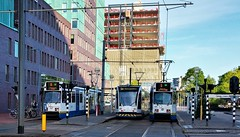 Eersteling (Peter ( phonepics only) Eijkman) Tags: amsterdam city trapkar bn combino tram transport trams tramtracks trolley gvb rail rails strassenbahn streetcars nederland netherlands nederlandse noordholland holland