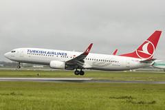 TC-JVR   Turkish Airlines   Boeing B737-8F2(WL)   CN 60030   Built 2016   DUB/EIDW 09/05/2019 (Mick Planespotter) Tags: aircraft airport b737 2019 dublinairport collinstown nik sharpenerpro3 flight tcjvr turkish airlines boeing b7378f2wl 60030 2016 dub eidw 09052019