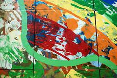 Balloch Mural (goatsgreetings) Tags: balloch loch lomond glasgow scotland mural color colour colourful colorful paint tiles