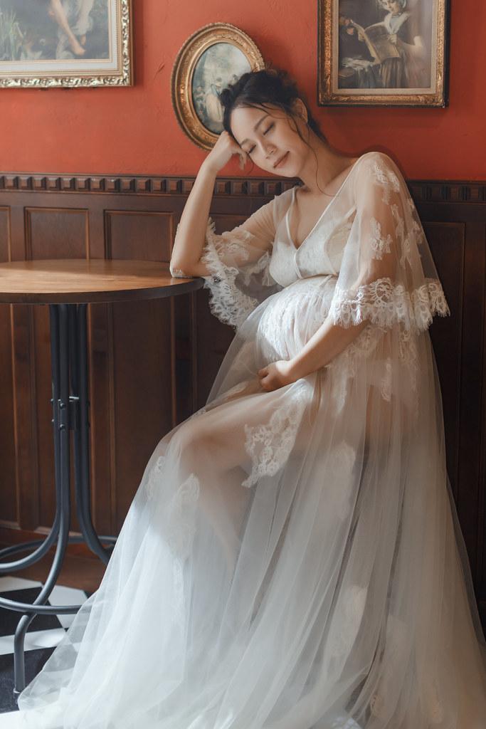 台南孕婦寫真|依然保有女神特質的孕媽咪|星光方案-8