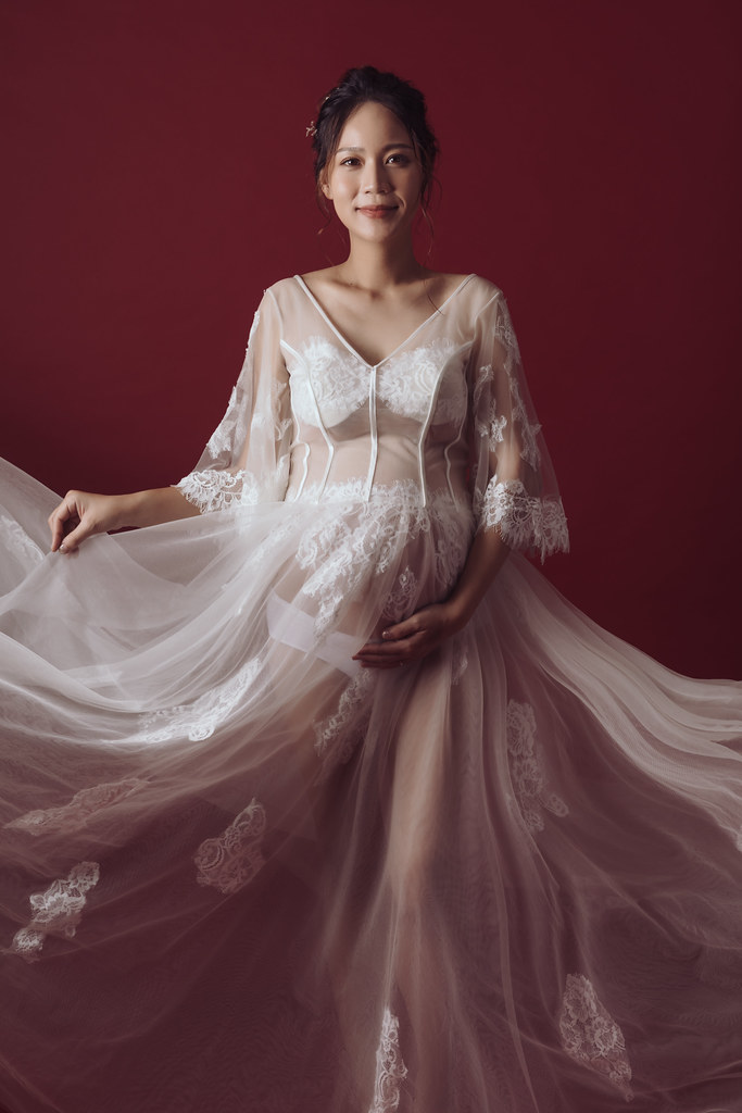 台南孕婦寫真|依然保有女神特質的孕媽咪|星光方案-6