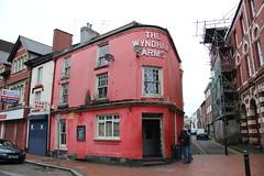 Wyndham Arms, Merthyr Tydfil (Snappy Pete) Tags: pub publichouse tavern inn building street people merthyrtydfil glamorgan southwales uk