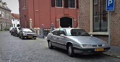 (Uno100) Tags: citroen xm silver grey sedan car zutphen holland netherlands 2019