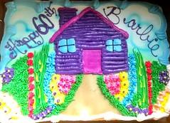 Happy 60th Barbie 🎀🎊🎉🎂 (Jeanne1931) Tags: birthdaycake barbiecake