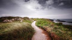 Following beauty... x (Einir Wyn Leigh) Tags: landscape seascape nature wales coastal colorful natural nikon outside walking beauty clouds sky uk path ynysllanddwyn llanddwynisland anglesey northwales cymru gogleddcymru