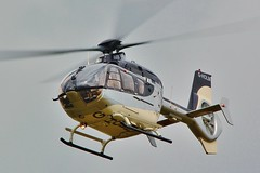 G-HOLM Eurocopter EC135T2 departs Oxford / London Airport . (Bob Symes) Tags: gholm