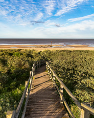 Anderby creek (Andy barclay) Tags: anderbycreek anderby skegness mablethorpe coast beach east seaside sand sea water waves dunes sunset grass golden hour lincolnshire uk england nikon d7100 1750mm sun sunny bright
