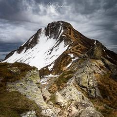 Le Puy Mary (Gilles Bourdreux Photography) Tags: france cantal auvergne volcan voyage puy mary landscape lumières paysage neige mountain montagne mont rocks rochers randonnée travel trek