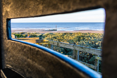 Anderby creek look out box. (Andy barclay) Tags: anderbycreek anderby skegness mablethorpe coast beach east seaside sand sea water waves dunes sunset grass golden hour lincolnshire uk england nikon d7100 1750mm sun sunny bright