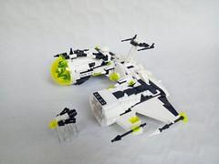 BT2-Eclipse shuttle drone lauching (fdsm0376) Tags: brickpirate bpchallenge space classic blacktron2 spy shuttle ghost eclipse drone moc lego