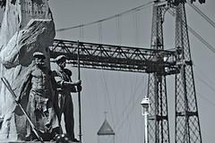 Portugalete (Jesus Castañeda del Moral) Tags: puente colgante portugalete bizkaia pais vasco basque country ria bilbao mar hierro vizcaya