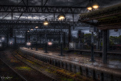 Better Late Than Never (Kev Walker ¦ 10 Million Views..Thank You) Tags: 2019 architecture city england hdr lancashire manchester piccadillystation town trains transport above arriving background brick britain british buildings cartography central centre cityscape europe exterior eye facade famous geography great industrial journey landmark lifestyle map metro movement northofengland oblique overhead passenger passengers piccadilly public rail railroad railway railwaystation route station stop subway terminal topography tourism track tracks traffic train trainline transportation travel traveling tube uk underground urban