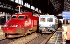 Thalys et Z 7100 à Lyon Perrache (yvesseligour) Tags: thalys z7100 lyonperrache