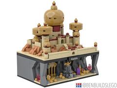 Micro Lego Aladdin MOC (2) (BenBuildsLego) Tags: aladdin lego legos micro microscale scale brick bricks jafar jasmine minifigure minifigures skyline architecture genie lamp nanoscale nano creative design moc gold palace beautiful middle east disney movie