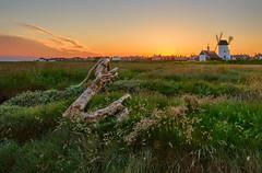 Sunset from Lytham Estuary (mliebenberg) Tags: sunset sunsets lytham lythamwindmill windmill windmills lancashire landscapephotography markliebenbergphotography