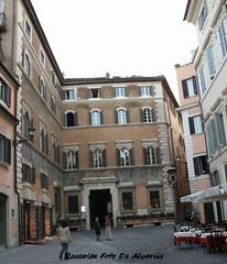 1930 2006 Palazzo Ricci Paracciani, facciata b (Alvaro ed Elisabetta de Alvariis) Tags: rioneregola romapiazzaricci viagiulia raccoltafotodealvariis