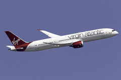 Virgin Atlantic 787-9 G-VZIG at London Heathrow LHR/EGLL (dan89876) Tags: virgin atlantic boeing 787 dreamliner b789 7879 gvzig dream jeannie london heathrow international airport takeoff 09r banking lhr egll