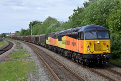 56049/56090 - Wrexham General (Mark_Edwards_47769) Tags: 56049 56090 colas colasrail wrexhamgeneral 6j37