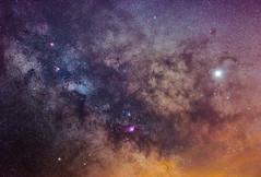 Center of Milky Way (BenedekM) Tags: milkyway slovakia village center stars universe space jupitzer planets galaxy sigma50mmf28 sigma nebula time nikon nikond3200 d3200 nature night nightphotography skywatcherstaradventurer staradventurer pinsharp
