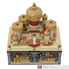 Micro Lego Aladdin MOC (3) (BenBuildsLego) Tags: aladdin lego legos micro microscale scale brick bricks jafar jasmine minifigure minifigures skyline architecture genie lamp nanoscale nano creative design moc gold palace beautiful middle east disney movie