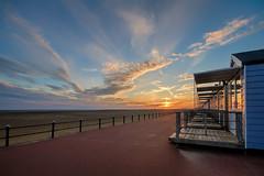 MLP_0028 (mliebenberg) Tags: beachhuts lytham lythamstannes stannesbeachhuts lancashire sunset sunsets beach coast fylde landscapephotography markliebenbergphotography
