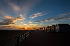 MLP_0022 (mliebenberg) Tags: beachhuts lytham lythamstannes stannesbeachhuts lancashire sunset sunsets beach coast fylde landscapephotography markliebenbergphotography